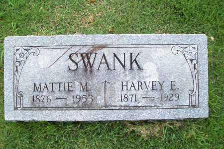 SWANK, MATTIE M. - Benton County, Arkansas | MATTIE M. SWANK - Arkansas Gravestone Photos