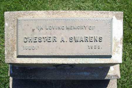 SWARENS, CHESTER A. - Benton County, Arkansas | CHESTER A. SWARENS - Arkansas Gravestone Photos