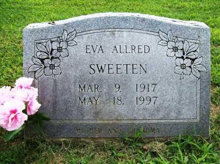 SWEETEN, EVA - Benton County, Arkansas   EVA SWEETEN - Arkansas Gravestone Photos