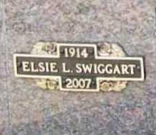 SWIGGART, ELSIE L. - Benton County, Arkansas | ELSIE L. SWIGGART - Arkansas Gravestone Photos