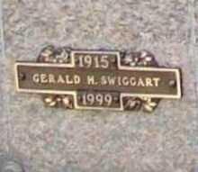 SWIGGART, GERALD H. - Benton County, Arkansas | GERALD H. SWIGGART - Arkansas Gravestone Photos