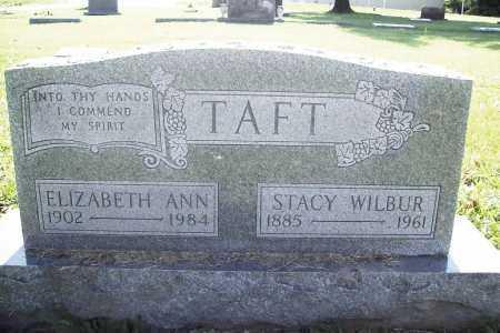 TAFT, STACY WILBUR - Benton County, Arkansas | STACY WILBUR TAFT - Arkansas Gravestone Photos