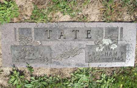 TATE, DORA VESTA - Benton County, Arkansas | DORA VESTA TATE - Arkansas Gravestone Photos