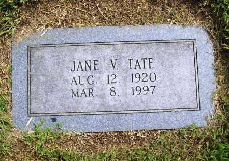 TATE, JANE V. - Benton County, Arkansas | JANE V. TATE - Arkansas Gravestone Photos