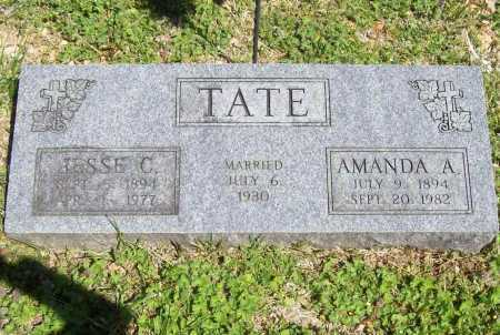 TATE, JESSE C. - Benton County, Arkansas | JESSE C. TATE - Arkansas Gravestone Photos