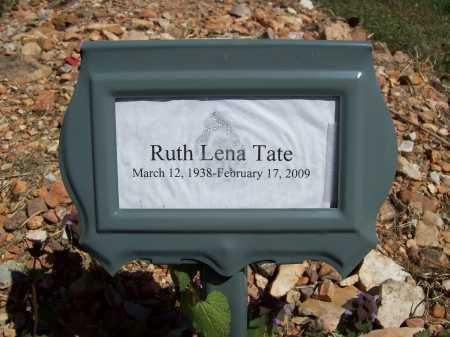 TATE, RUTH LENA - Benton County, Arkansas   RUTH LENA TATE - Arkansas Gravestone Photos