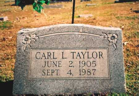 TAYLOR, CARL L. - Benton County, Arkansas | CARL L. TAYLOR - Arkansas Gravestone Photos