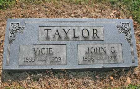 TAYLOR, JOHN G. - Benton County, Arkansas | JOHN G. TAYLOR - Arkansas Gravestone Photos
