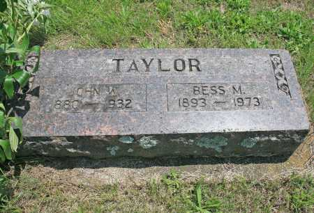 TAYLOR, BESS M (ORIGINAL) - Benton County, Arkansas   BESS M (ORIGINAL) TAYLOR - Arkansas Gravestone Photos