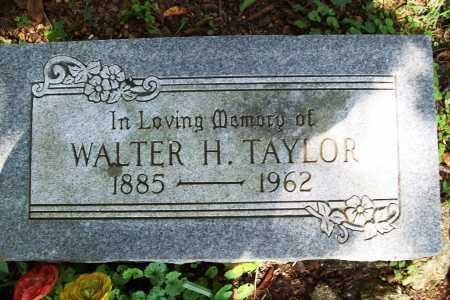 TAYLOR, WALTER H. - Benton County, Arkansas   WALTER H. TAYLOR - Arkansas Gravestone Photos