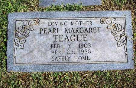 TEAGUE, PEARL MARGARET - Benton County, Arkansas   PEARL MARGARET TEAGUE - Arkansas Gravestone Photos