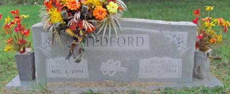 TEDFORD (VETERAN WWII), JOHN V. - Benton County, Arkansas | JOHN V. TEDFORD (VETERAN WWII) - Arkansas Gravestone Photos