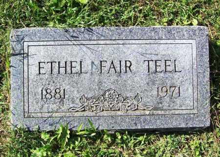 FAIR TEEL, ETHEL - Benton County, Arkansas | ETHEL FAIR TEEL - Arkansas Gravestone Photos
