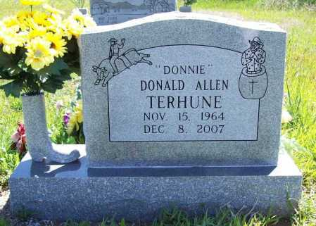 "TERHUNE, DONALD ALLEN ""DONNIE"" - Benton County, Arkansas 