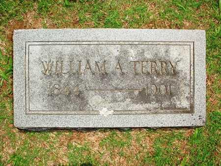 TERRY (VETERAN CSA), WILLIAM A - Benton County, Arkansas | WILLIAM A TERRY (VETERAN CSA) - Arkansas Gravestone Photos