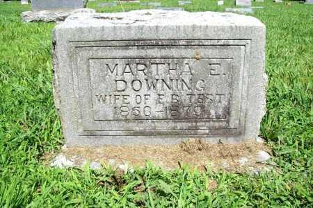 TEST, MARTHA E. - Benton County, Arkansas | MARTHA E. TEST - Arkansas Gravestone Photos