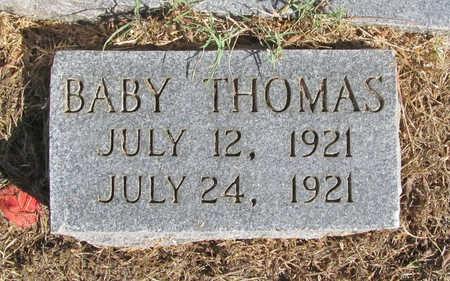 THOMAS, BABY - Benton County, Arkansas | BABY THOMAS - Arkansas Gravestone Photos