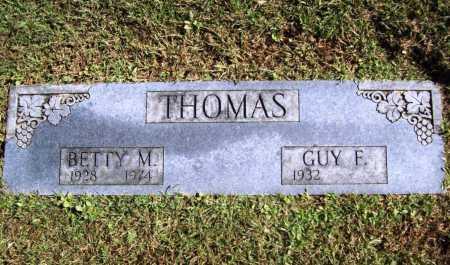 THOMAS, BETTY M. - Benton County, Arkansas | BETTY M. THOMAS - Arkansas Gravestone Photos
