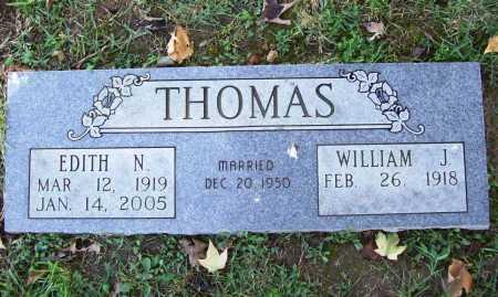 THOMAS, EDITH N. - Benton County, Arkansas   EDITH N. THOMAS - Arkansas Gravestone Photos