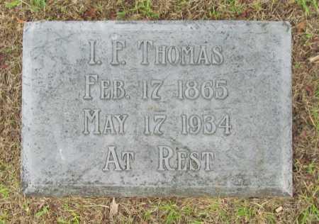 THOMAS, I. F. - Benton County, Arkansas   I. F. THOMAS - Arkansas Gravestone Photos