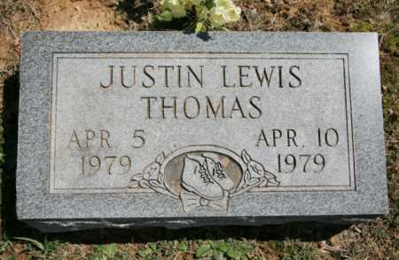 THOMAS, JUSTIN LEWIS - Benton County, Arkansas | JUSTIN LEWIS THOMAS - Arkansas Gravestone Photos