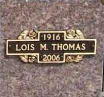 THOMAS, LOIS MARIE - Benton County, Arkansas | LOIS MARIE THOMAS - Arkansas Gravestone Photos