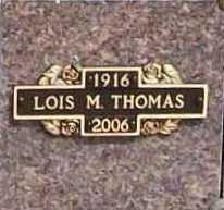 MARQUART THOMAS, LOIS MARIE - Benton County, Arkansas | LOIS MARIE MARQUART THOMAS - Arkansas Gravestone Photos