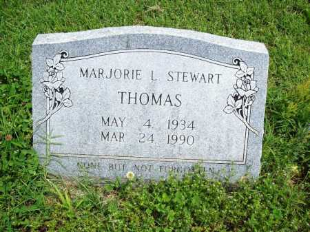 STEWART THOMAS, MARJORIE L. - Benton County, Arkansas   MARJORIE L. STEWART THOMAS - Arkansas Gravestone Photos