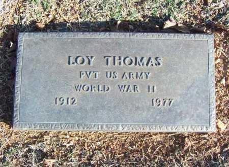 THOMAS (VETERAN WWII), LOY - Benton County, Arkansas | LOY THOMAS (VETERAN WWII) - Arkansas Gravestone Photos