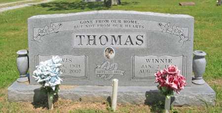 THOMAS, WINNIE - Benton County, Arkansas | WINNIE THOMAS - Arkansas Gravestone Photos