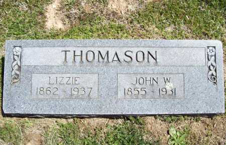 THOMASON, LIZZIE - Benton County, Arkansas | LIZZIE THOMASON - Arkansas Gravestone Photos