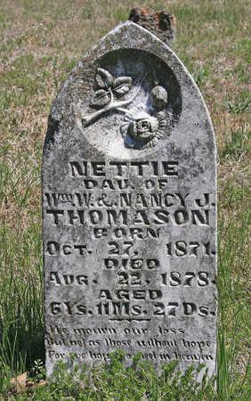 THOMASON, NETTIE - Benton County, Arkansas | NETTIE THOMASON - Arkansas Gravestone Photos