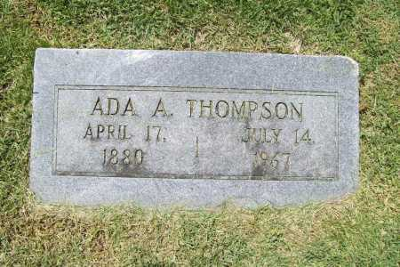 THOMPSON, ADA A. - Benton County, Arkansas | ADA A. THOMPSON - Arkansas Gravestone Photos