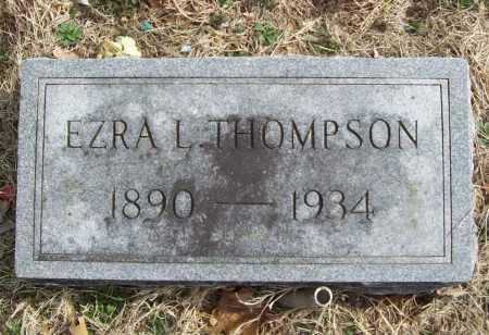 THOMPSON, EZRA LEE (2) - Benton County, Arkansas | EZRA LEE (2) THOMPSON - Arkansas Gravestone Photos