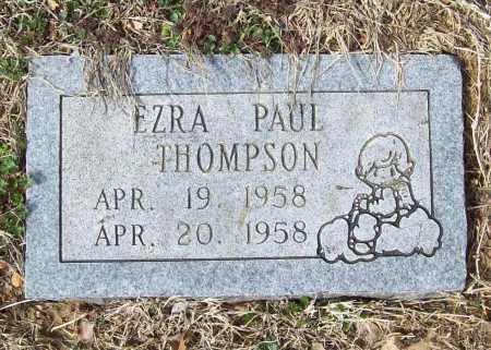 THOMPSON, EZRA PAUL - Benton County, Arkansas   EZRA PAUL THOMPSON - Arkansas Gravestone Photos