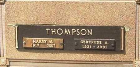 THOMPSON (VETERAN WWII), HARRY MAGEE - Benton County, Arkansas | HARRY MAGEE THOMPSON (VETERAN WWII) - Arkansas Gravestone Photos