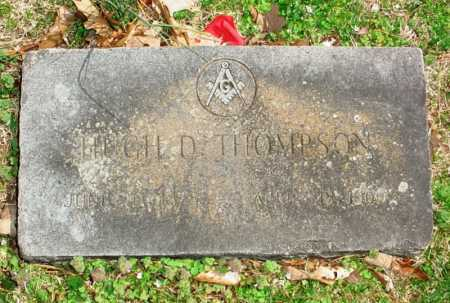 THOMPSON, HUGH D. - Benton County, Arkansas   HUGH D. THOMPSON - Arkansas Gravestone Photos