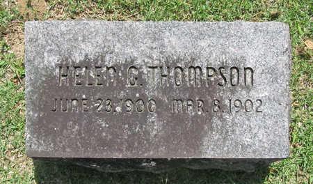 THOMPSON, HELEN G - Benton County, Arkansas | HELEN G THOMPSON - Arkansas Gravestone Photos