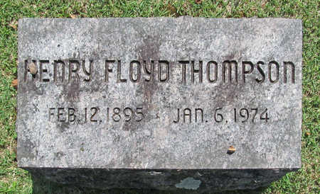 THOMPSON, HENRY FLOYD - Benton County, Arkansas | HENRY FLOYD THOMPSON - Arkansas Gravestone Photos