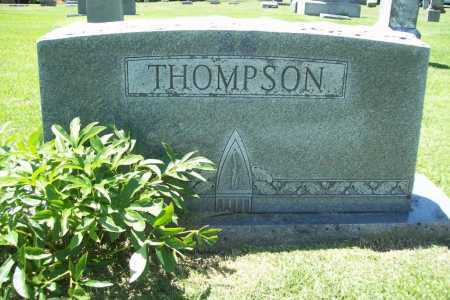 THOMPSON, HEADSTONE - Benton County, Arkansas | HEADSTONE THOMPSON - Arkansas Gravestone Photos