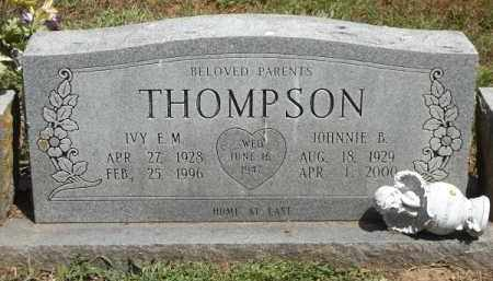 THOMPSON, JOHNNIE B. - Benton County, Arkansas | JOHNNIE B. THOMPSON - Arkansas Gravestone Photos