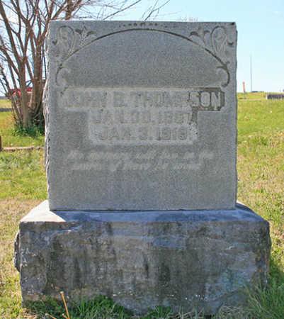 "THOMPSON, JOHN B ""DICK"" - Benton County, Arkansas | JOHN B ""DICK"" THOMPSON - Arkansas Gravestone Photos"
