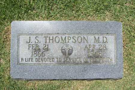 THOMPSON, J. S., MD - Benton County, Arkansas | J. S., MD THOMPSON - Arkansas Gravestone Photos