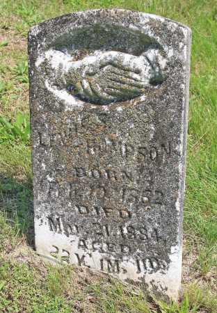 THOMPSON, LEWIS S. - Benton County, Arkansas   LEWIS S. THOMPSON - Arkansas Gravestone Photos