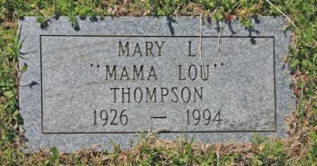 THOMPSON, MARY L - Benton County, Arkansas | MARY L THOMPSON - Arkansas Gravestone Photos