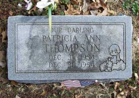 THOMPSON, PATRICIA ANN - Benton County, Arkansas   PATRICIA ANN THOMPSON - Arkansas Gravestone Photos