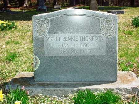 THOMPSON, VIOLET BENNIE - Benton County, Arkansas | VIOLET BENNIE THOMPSON - Arkansas Gravestone Photos