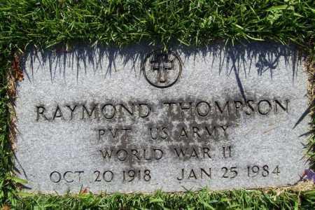 THOMPSON (VETERAN WWII), RAYMOND - Benton County, Arkansas | RAYMOND THOMPSON (VETERAN WWII) - Arkansas Gravestone Photos
