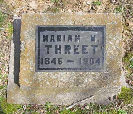 THREET, MARIAN W. - Benton County, Arkansas | MARIAN W. THREET - Arkansas Gravestone Photos