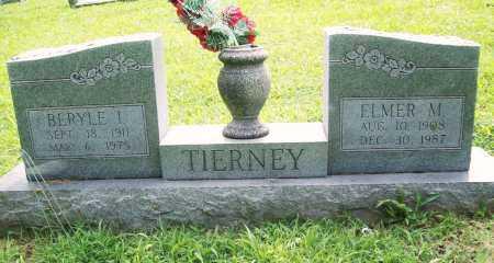 TIERNEY, BERYLE I. - Benton County, Arkansas   BERYLE I. TIERNEY - Arkansas Gravestone Photos